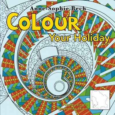 Colour Your Holiday - Sightseeing in Ringkøbing-Skjern - Voksen cover